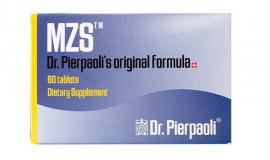 Product packaging of MZS Melatonin Dr.Pierpaoli's Dietary Supplements